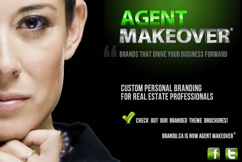 AgentMakeover.com custom personal branding for Realtors and Sales Professionals