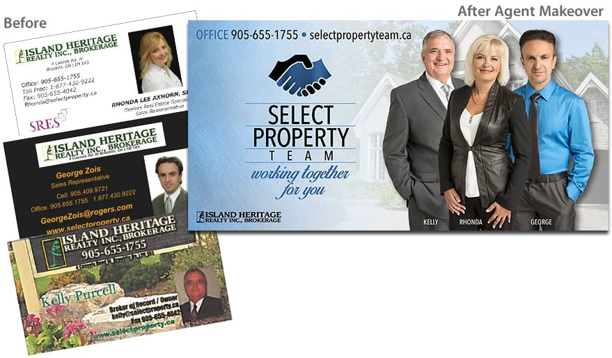Select Property Team - Before and After Agent Makeover