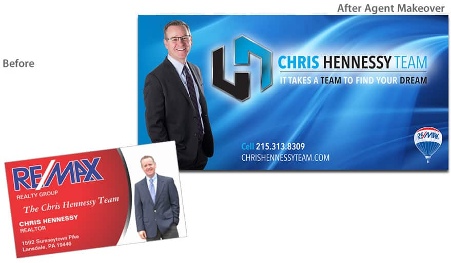 Before & After Agent Makeover - Chris Hennessy
