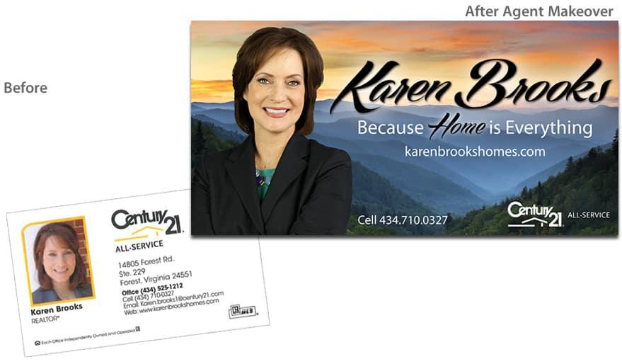 Before & After Agent Makeover - Karen Brooks