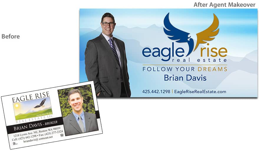 Before & After Agent Makeover - Brian Davis