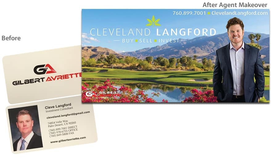 Cleveland Langford Before After Agent Makeover