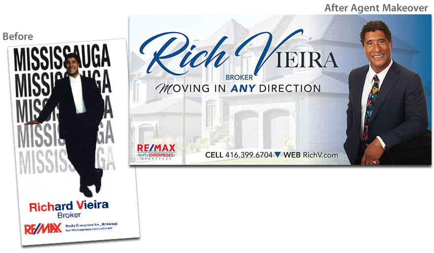 Rich Vieira Before & After Agent Makeover