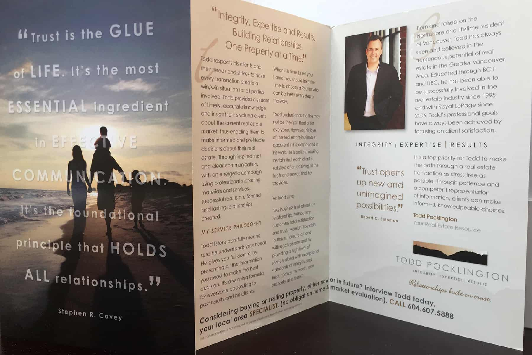 Personal Brochures - Agent Makeover