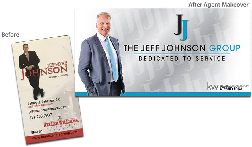 Before After Agent Makeover - Jeffrey Johnson